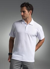 koszulka, polo, promostars, standard, z nadrukiem, z napisem, z twoim nadrukiem, z własnym napisem, biały, biała, hurt