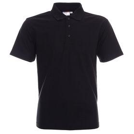 koszulka, polo, promostars, standard, z nadrukiem, z napisem, z twoim nadrukiem, z własnym napisem, czarna, czarne, hurt