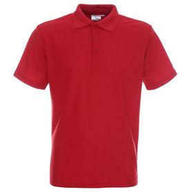 koszulka, polo, promostars, standard, z nadrukiem, z napisem, z twoim nadrukiem, z własnym napisem, czerwony, czerwona, hurt