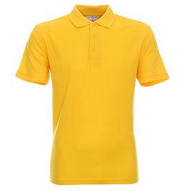 koszulka, polo, promostars, standard, z nadrukiem, z napisem, z twoim nadrukiem, z własnym napisem, żółta, żółty, żółte, hurt