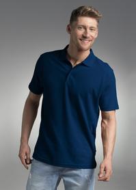 koszulka, polo, promostars, solid, z nadrukiem, z napisem, z twoim nadrukiem, z własnym napisem, niebieska, niebieski, niebieskie, hurt