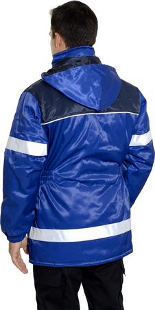 kurtka z taśmami odblaskowymi, robocza, bhp, cena, norma, olejoodporna