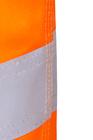 Krótkie spodenki Saturn Short wykonane z tkaniny luminex, mającej właściwości zwiększonej widzialności, dodatkowo naszyte dwa pasy taśmy odblaskowej. Kieszeń na komórke naszyta na udzie jest bardzo ergonomiczna. Wykończone wstawkami i patkami z czarnej tk