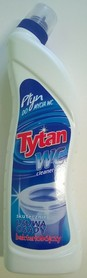płyn do mycia  wc  1,2 kg.    tytan  wc cleaner  max