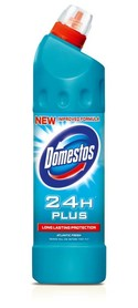 domestos  24h plus  long lasting protection  atlantic fresh  750ml.