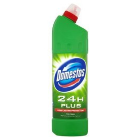 domestos  24h plus  long lasting protection   pine fresh  750ml.
