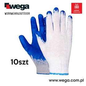 Rękawice Wampirki niebieskie 10szt.