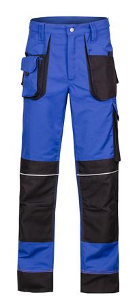 spodnie olaf niebieskie