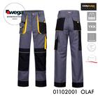spodnie olaf szare